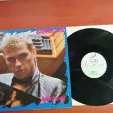 Discos de vinilo: MAXI SINGLE BRIAN ICE, NIGHT GIRL 1987. Lote 199649351