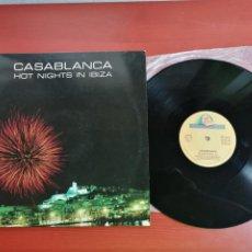 Discos de vinilo: MAXI SINGLE CASABLANCA, HOT NIGHTS IN IBIZA 1987. Lote 199649820