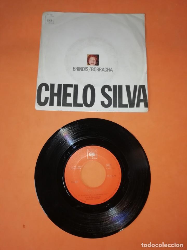 CHELO SILVA. BRINDIS .- BORRACHA. CBS RECORDS 1970 (Música - Discos - Singles Vinilo - Grupos y Solistas de latinoamérica)