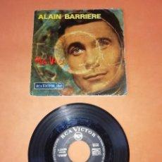 Discos de vinilo: ALAIN BARRIERE . MA VIE. RCA VICTOR RECORDS 1964. Lote 199654473