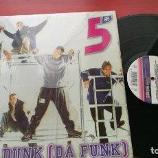 Discos de vinilo: MAXI SINGLE FIVE / SLAM DUNK (DA FUNK) MAXISINGLE 1998. Lote 199655052