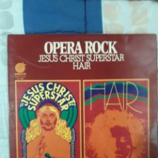 Discos de vinilo: DISCO OPERA ROCK, JESUS CHRIST SUPERSTAR HAIR. Lote 199655113