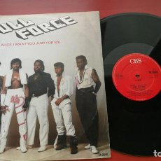 Discos de vinilo: MAXI SINGLE FULL FORCE- ALICE, I WANT YOU JUST FOR ME 1985. Lote 199655246