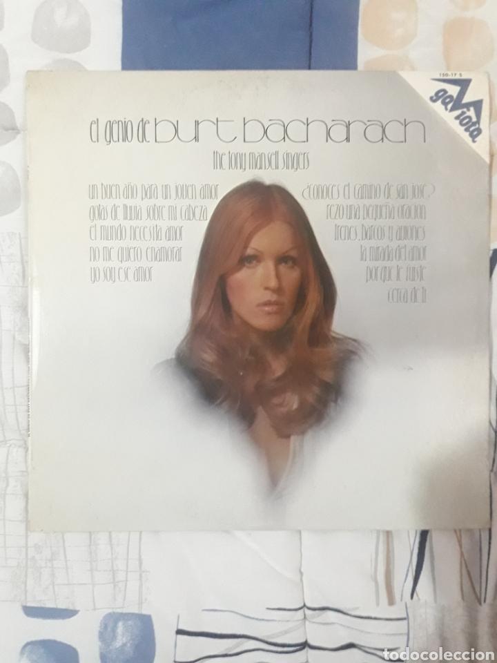 DISCO THE TONY MANSELL SINGERS, EL GENIO DE BURT 1973 (Música - Discos - LP Vinilo - Orquestas)