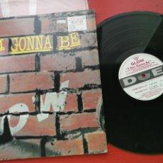 Discos de vinilo: MAXI SINGLE GLOW I AM GONNA BE EDICION ITALIA 1997. Lote 199657933