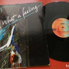 Discos de vinilo: MAXI SINGLE LISA - WHAT A FEELING - MAXI-SINGLE MAX MUSIC SPAIN 1998. Lote 199660728