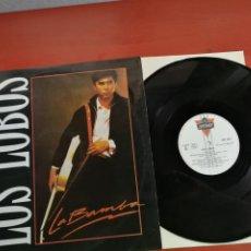 Discos de vinilo: MAXI SINGLE LOS LOBOS, LA BAMBA-CHARLENA-RIP IT UP 1987. Lote 199661156