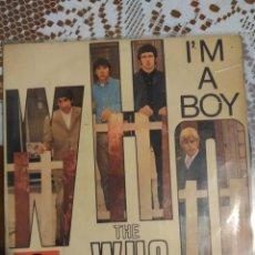 Dischi in vinile: THE WHO. I'M A BOY. EP. ESPAÑA POLYDOR .1966. Lote 199662852