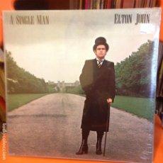 Discos de vinilo: ELTON JOHN - A SINGLE MAN - LP CARPETA DOBLE - SIN ABRIR / A ESTRENAR. SEALED. Lote 199664158