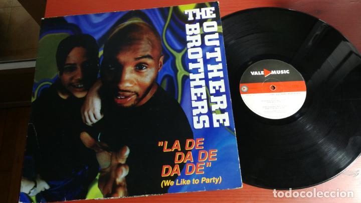 MAXI SINGLE THE OUTHERE BROTHERS LA DE DA DE DA DE (WE LIKE TO PARTY) (Música - Discos de Vinilo - Maxi Singles - Pop - Rock - New Wave Internacional de los 80)