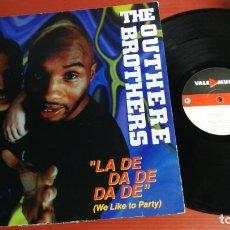 Discos de vinilo: MAXI SINGLE THE OUTHERE BROTHERS LA DE DA DE DA DE (WE LIKE TO PARTY) . Lote 199666435