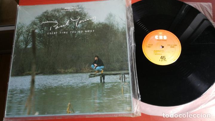 MAXI SINGLE PAUL YOUNG EVERY TIME YOU GO AWAY/ THIS MEANS ANYTHING 1985 (Música - Discos de Vinilo - Maxi Singles - Pop - Rock - New Wave Internacional de los 80)