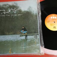 Discos de vinilo: MAXI SINGLE PAUL YOUNG EVERY TIME YOU GO AWAY/ THIS MEANS ANYTHING 1985. Lote 199666770