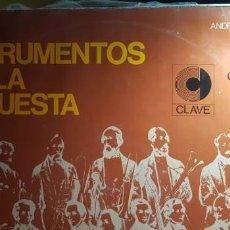 Discos de vinilo: LOS INSTRUMENTOS DE LA ORQUESTA NARRADOR ANDRES CAPARROS 2LP DOBLE VINYLS MADE IN SPAIN 1968. Lote 199667237