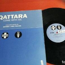 Discos de vinilo: MAXI SINGLE QATTARA ¬ PAUL VAN DYK COME WITH ME 1997. Lote 199667362