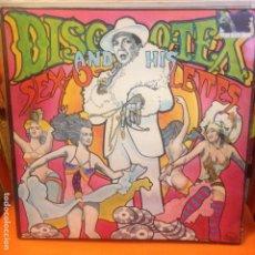 Discos de vinilo: DISCO TEX & HIS SEX-O-LETTES – DISCO TEX & THE SEX-O-LETTES REVIEW LP. Lote 199668142