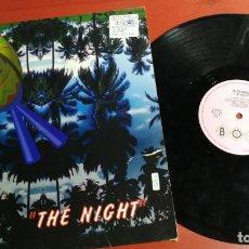 Discos de vinilo: MAXI SINGLE RITHMO - THE NIGHT - MAXI-SINGLE BOY RECORDS SPAIN 1997. Lote 199669502