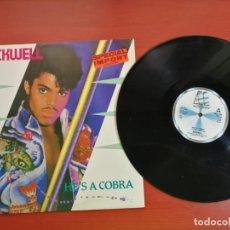 Discos de vinilo: MAXI SINGLE ROCKWELL, HE'S A COBRA ESPECIAL IMPORTACION 1984. Lote 199669821