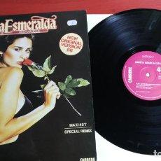 Discos de vinilo: MAXI SINGLE SANTA ESMERALDA - DON'T LET ME BE MISUNDERSTOOD LP VINILO 1986 FRANCIA CARRERE. Lote 199670221