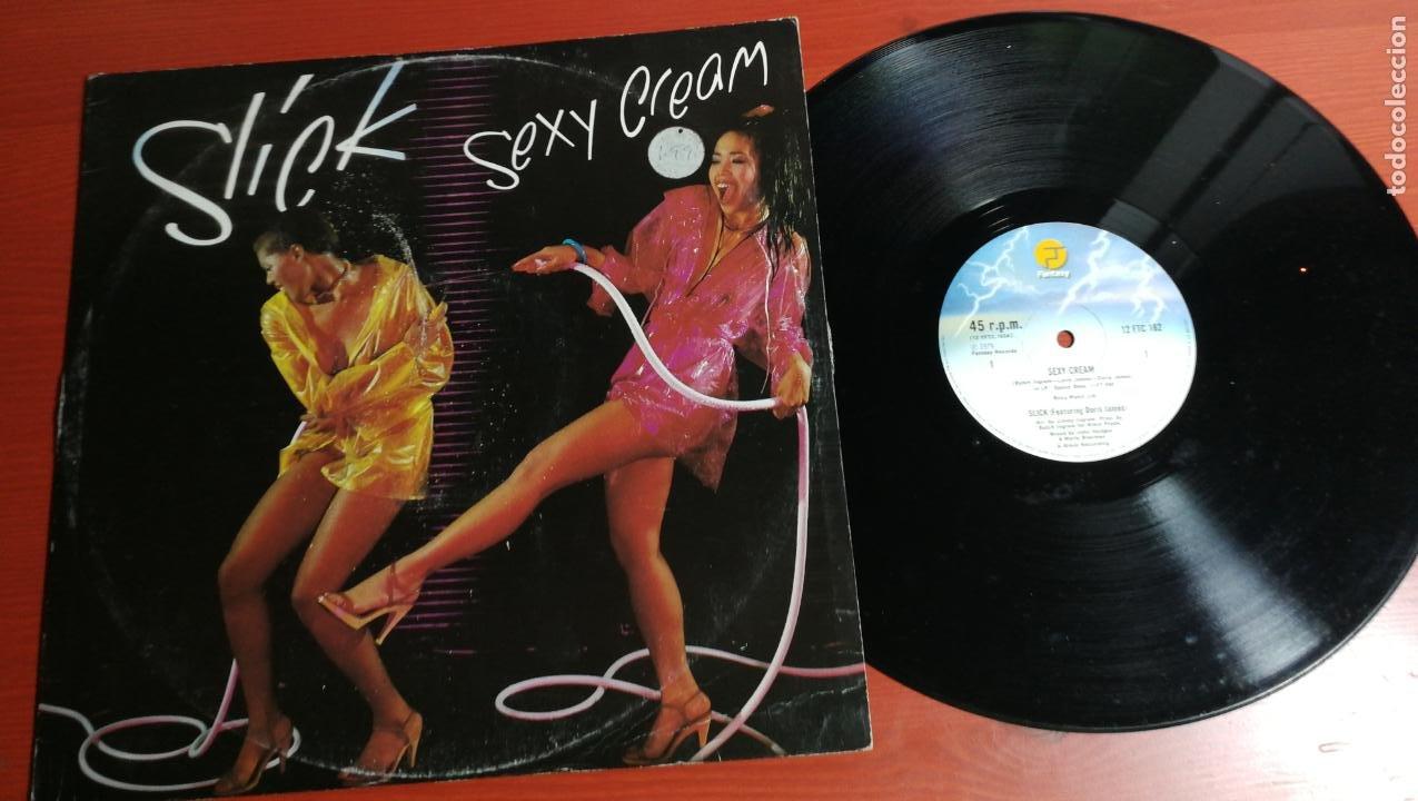 MAXI SINGLE SLICK - SEXY CREAM / PUT YOUR PANTS ON - UK MAXI SINGLE 1979 - FANTASY (Música - Discos de Vinilo - Maxi Singles - Pop - Rock - New Wave Internacional de los 80)