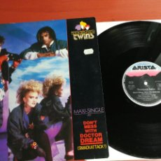 Discos de vinilo: MAXI SINGLE THOMPSON TWINS ( DON'T MESS WITH DOCTOR DREAM - VERY BIG BUSINESS ) 1985-GERMANY . Lote 199672061