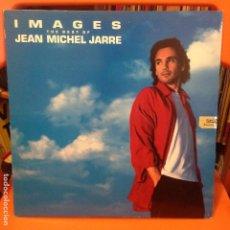 Discos de vinilo: JEAN MICHEL JARRE – IMAGES (THE BEST OF JEAN MICHEL JARRE) LP. Lote 199683592