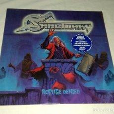 Discos de vinilo: LP SANCTUARY - REFUGE DENIED. Lote 199693202