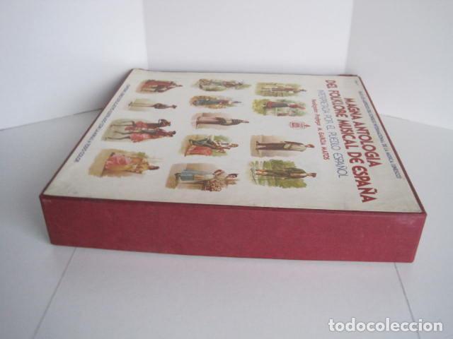 Discos de vinilo: MAGNA ANTOLOGÍA DEL FOLKLORE MUSICAL DE ESPAÑA INTERPRETADA POR EL PUEBLO. M. GARCÍA MATOS. UNESCO. - Foto 5 - 199694373