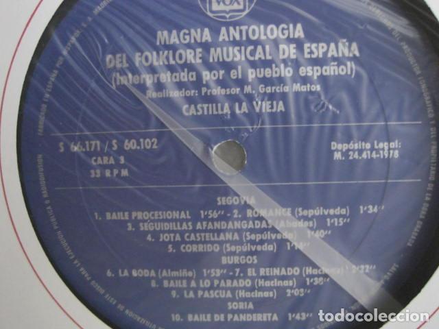 Discos de vinilo: MAGNA ANTOLOGÍA DEL FOLKLORE MUSICAL DE ESPAÑA INTERPRETADA POR EL PUEBLO. M. GARCÍA MATOS. UNESCO. - Foto 33 - 199694373