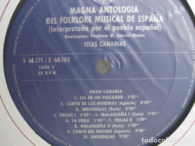 Discos de vinilo: MAGNA ANTOLOGÍA DEL FOLKLORE MUSICAL DE ESPAÑA INTERPRETADA POR EL PUEBLO. M. GARCÍA MATOS. UNESCO. - Foto 34 - 199694373