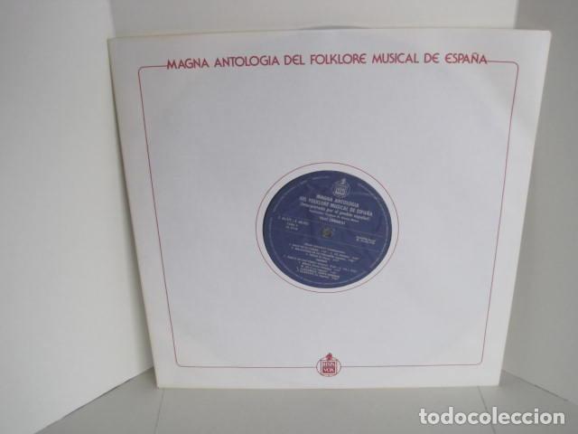 Discos de vinilo: MAGNA ANTOLOGÍA DEL FOLKLORE MUSICAL DE ESPAÑA INTERPRETADA POR EL PUEBLO. M. GARCÍA MATOS. UNESCO. - Foto 35 - 199694373