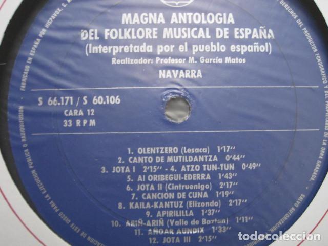 Discos de vinilo: MAGNA ANTOLOGÍA DEL FOLKLORE MUSICAL DE ESPAÑA INTERPRETADA POR EL PUEBLO. M. GARCÍA MATOS. UNESCO. - Foto 45 - 199694373