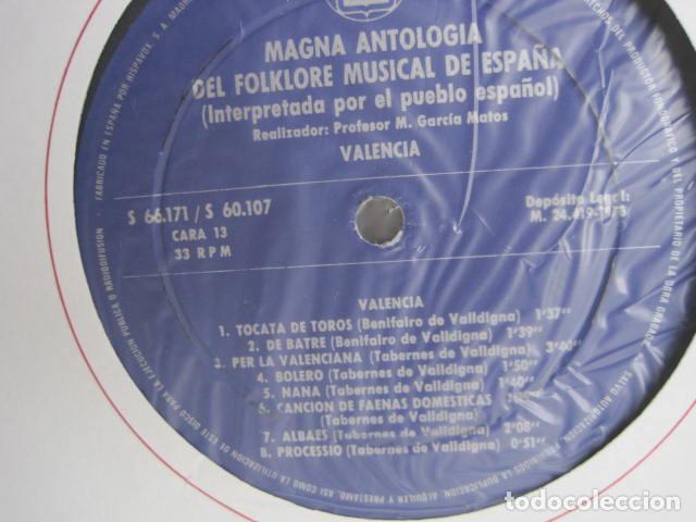 Discos de vinilo: MAGNA ANTOLOGÍA DEL FOLKLORE MUSICAL DE ESPAÑA INTERPRETADA POR EL PUEBLO. M. GARCÍA MATOS. UNESCO. - Foto 55 - 199694373