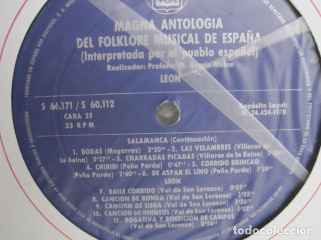 Discos de vinilo: MAGNA ANTOLOGÍA DEL FOLKLORE MUSICAL DE ESPAÑA INTERPRETADA POR EL PUEBLO. M. GARCÍA MATOS. UNESCO. - Foto 60 - 199694373