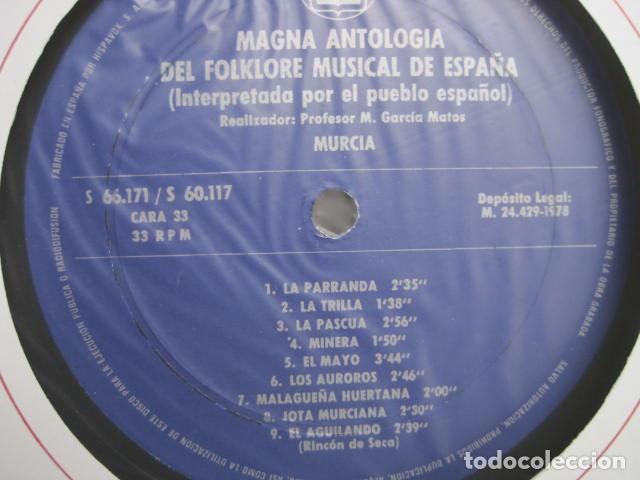 Discos de vinilo: MAGNA ANTOLOGÍA DEL FOLKLORE MUSICAL DE ESPAÑA INTERPRETADA POR EL PUEBLO. M. GARCÍA MATOS. UNESCO. - Foto 68 - 199694373