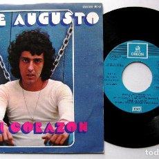 Discos de vinilo: JOSE AUGUSTO - A TI CORAZON - SINGLE ODEON 1976 BPY. Lote 199697263