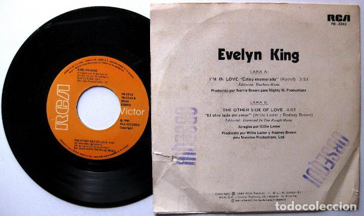 Discos de vinilo: Evelyn King - Im In Love - Single RCA Victor 1981 BPY - Foto 2 - 199700493