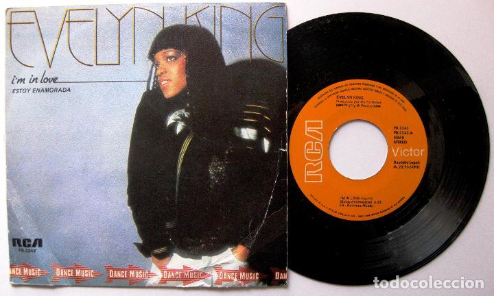 EVELYN KING - I'M IN LOVE - SINGLE RCA VICTOR 1981 BPY (Música - Discos - Singles Vinilo - Funk, Soul y Black Music)