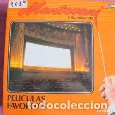 Discos de vinilo: MANTOVANI Y SU ORQUESTA - PELICULAS FAVORITAS- 2XLP - AÑO 1981. Lote 199703772