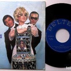 Discos de vinilo: LOS 3 SUDAMERICANOS - CÁNDIDA - SINGLE BELTER 1970 BPY. Lote 199711346