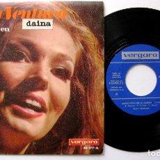 Discos de vinilo: RUDY VENTURA - MARIONETAS EN LA CUERDA / LA FELICIDAD - SINGLE VERGARA 1967 BPY. Lote 199711831