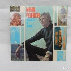 Discos de vinilo: NINO FERRER SINGLE JE VEUX ETRE NOIR / SI TU M´AIMES ENCORE, DISCOS TEMPO. Lote 199711916