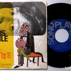 Discos de vinilo: LUIS AGUILE - EL SERAFINO - SINGLE SONOPLAY 1967 BPY. Lote 199719710