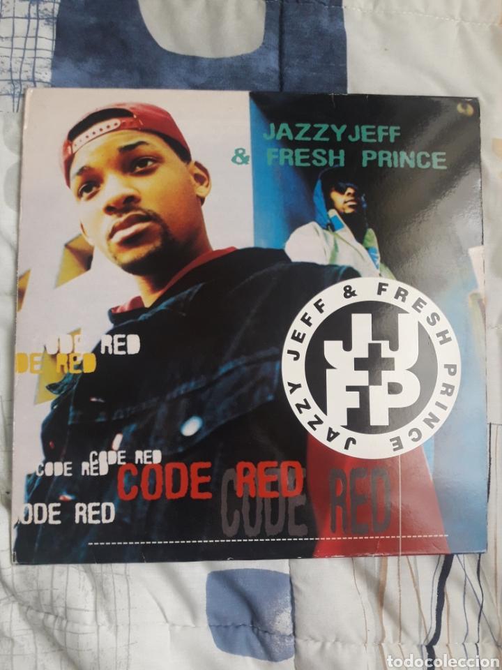 DISCO JAZZY JEFF & FRESH PRINCE, CODE RED (Música - Discos - LP Vinilo - Rap / Hip Hop)