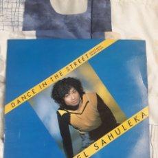 Discos de vinilo: DISCO DANIEL SAHULEKA, DANCE IN THE STREET. Lote 199730241