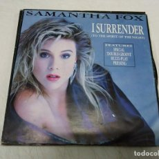 Discos de vinilo: SAMANTHA FOX – I SURRENDER (TO THE SPIRIT OF THE NIGHT). Lote 199731863