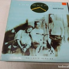 Discos de vinilo: WORKING WEEK – TOO MUCH TIME. Lote 199731995
