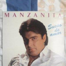 Discos de vinilo: DISCO MANZANITA, SUEÑO DE AMOR. Lote 199733090
