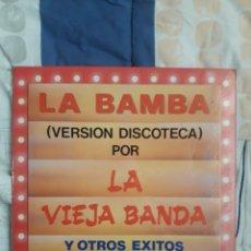 Discos de vinilo: DISCO LA BAMBA, LA VIEJA BANDA. Lote 199733252