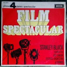 Discos de vinilo: STANLEY BLACK – FILM SPECTACULAR VOL. 3 LP, MONO SPAIN 1966 - JAMES BOND. Lote 199737542